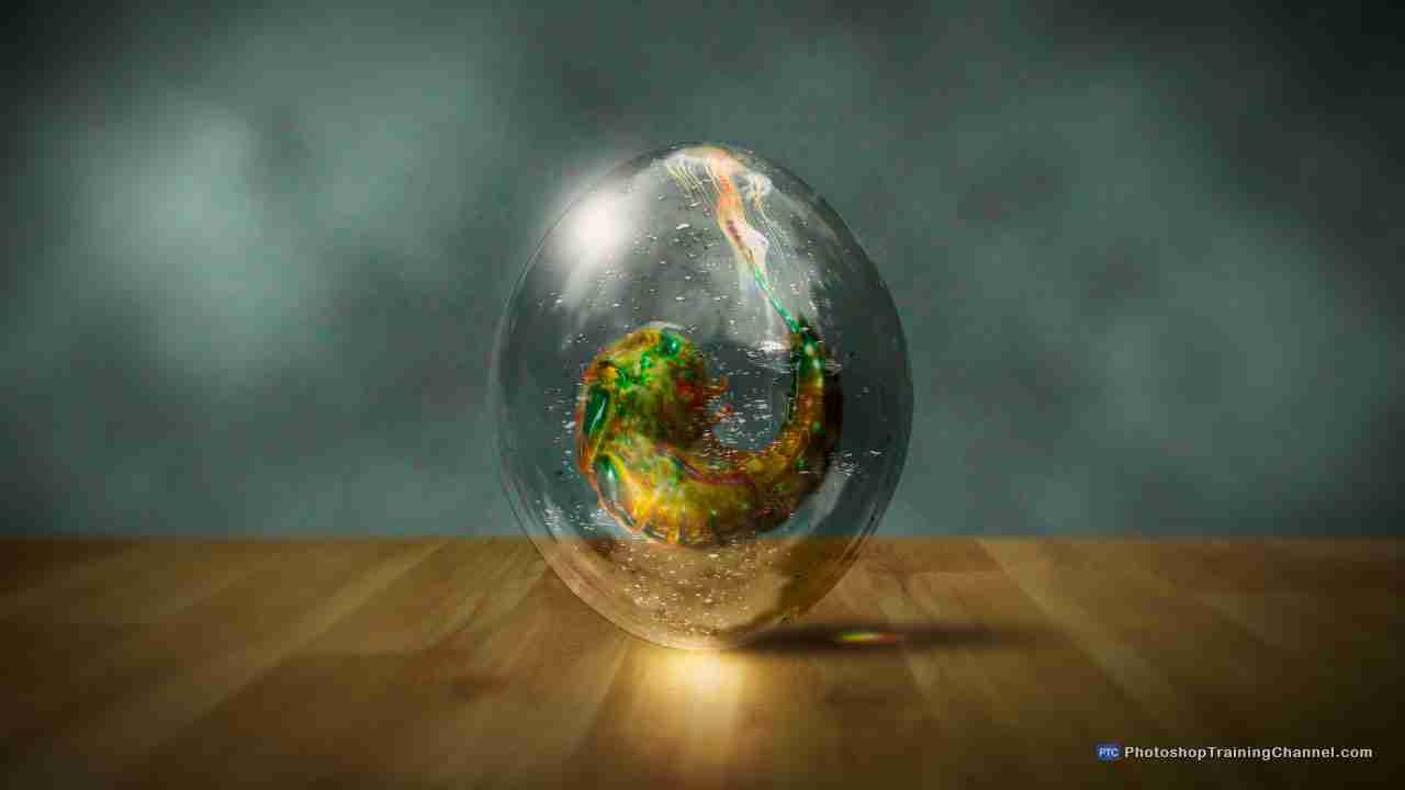 Amazingly realistic transparent alien egg photoshop tutorial final image baditri Gallery