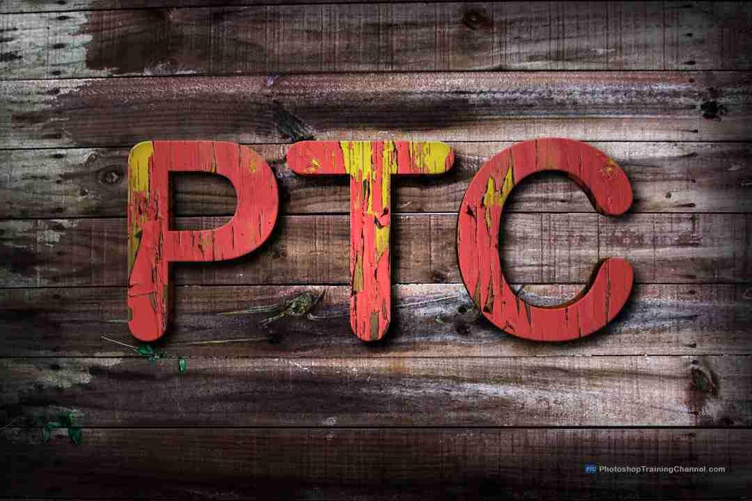 Photoshop text textures create a paint peeling off text effect photoshop text textures ccuart Choice Image