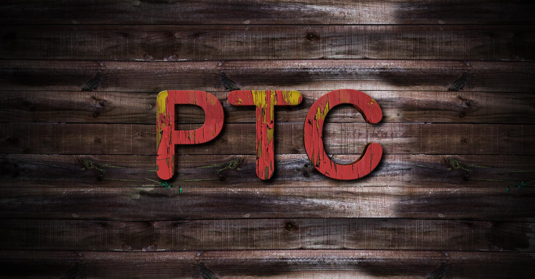 Photoshop Text Textures - Create a Paint Peeling Off Text Effect