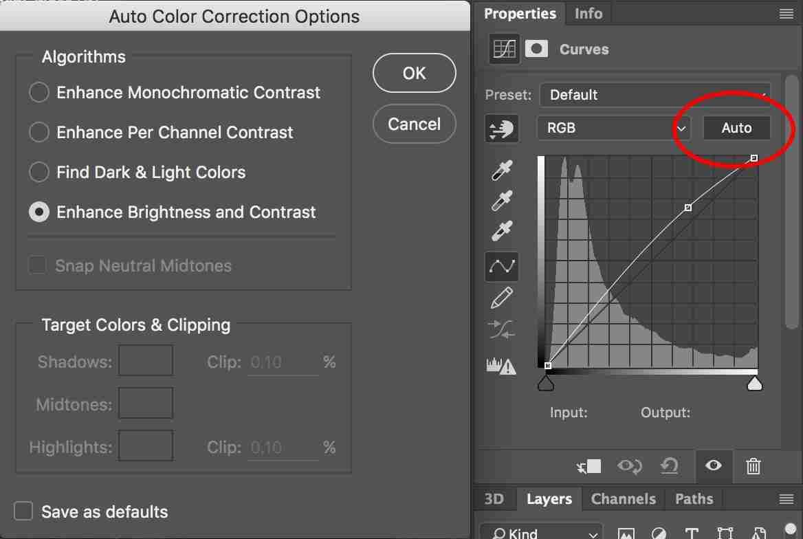 Better understanding Photoshop's Auto commands and ...