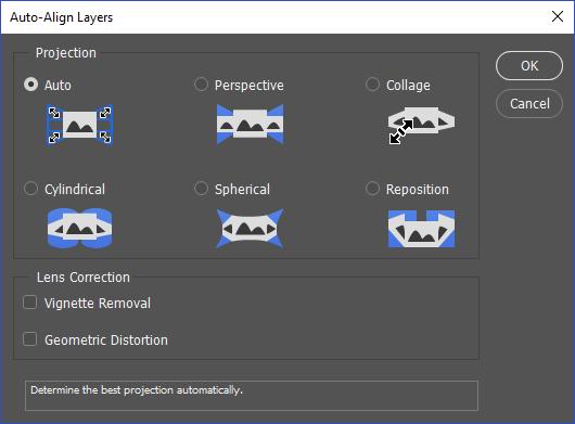 Auto Align Layers