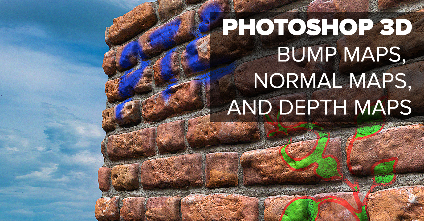Photoshop 3D - Bump, Normal, and Depth Maps