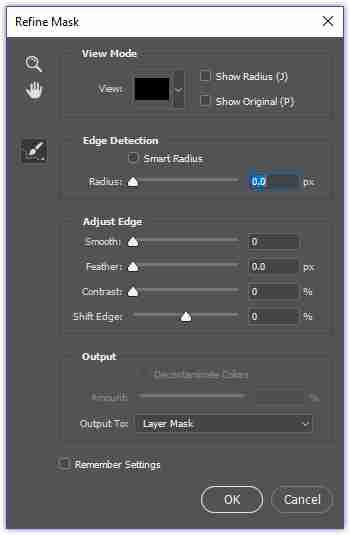 Bring Back Refine Edge / Refine Mask in Photoshop CC