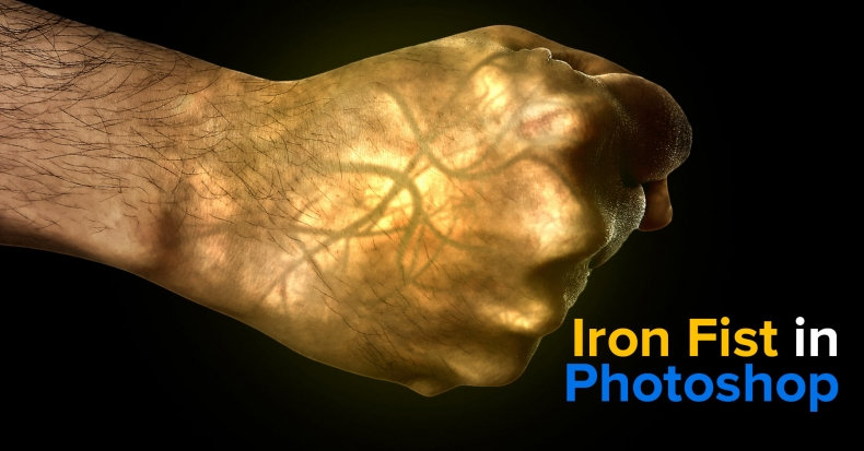 Iron Fist Effect in Photoshop – Glowing Hand