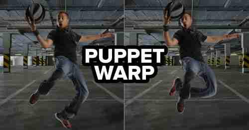 Puppet Warp in Photoshop