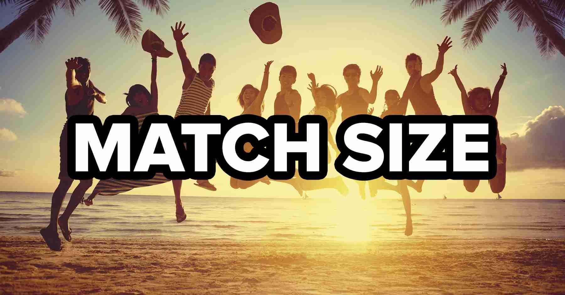 Match Image Size