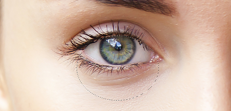 Select Top Part of Eye