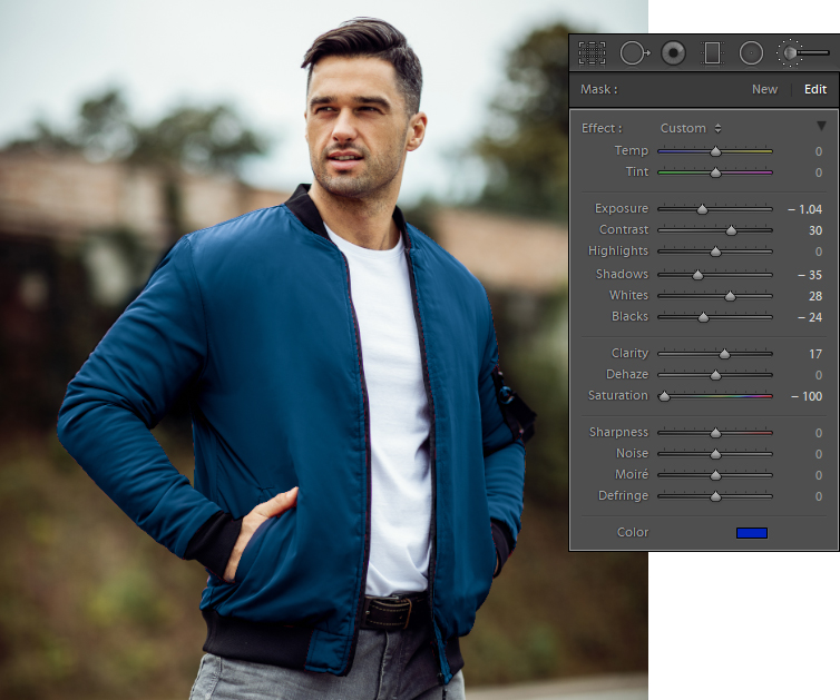 Adjust Color Change In Lightroom