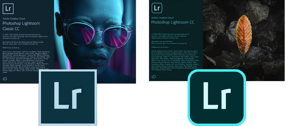 Lightroom Classic CC & Lightroom CC