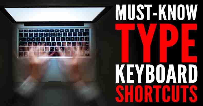 Photoshop Type Keyboard Shortcuts